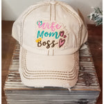 Wife Mom Boss Hat