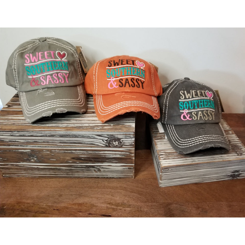 Sweet Southern & Sassy Hat -- Choice of Color