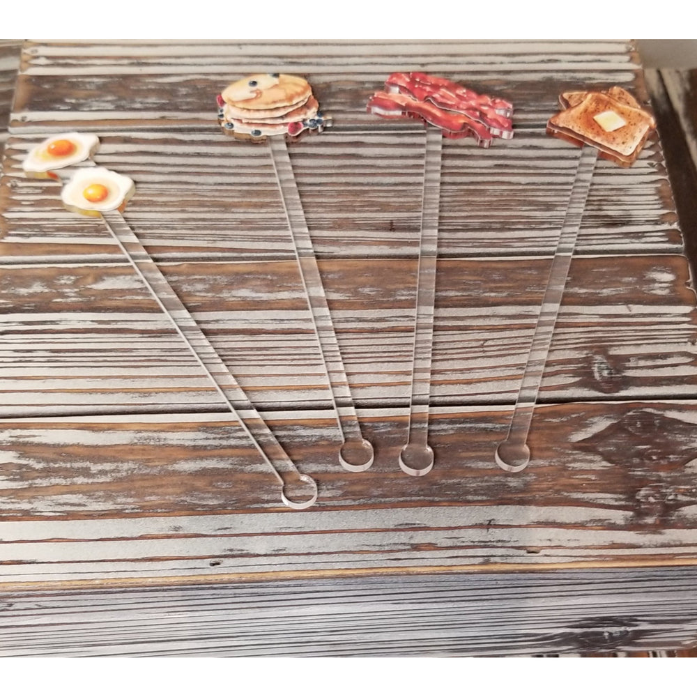 Breakfast Buffet Stir Sticks
