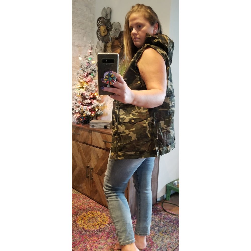Camouflage Vest -- Choice of Size