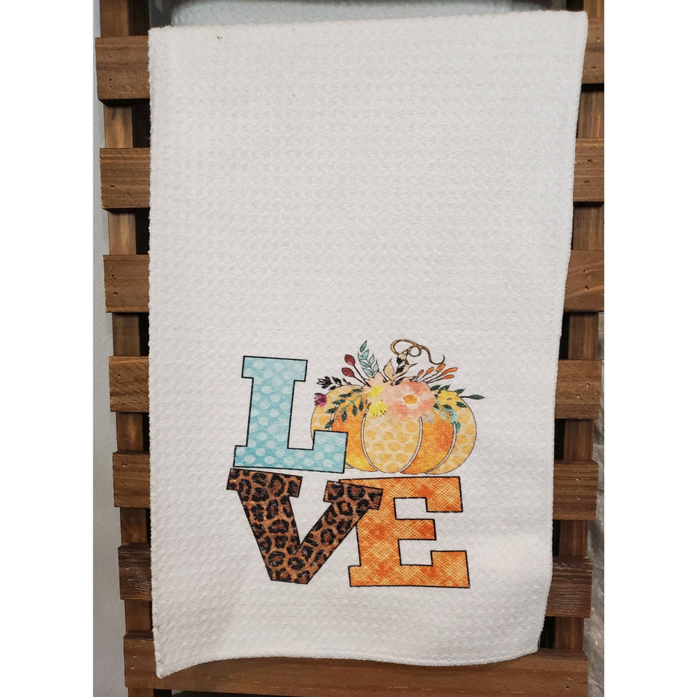 Love Kitchen Towel