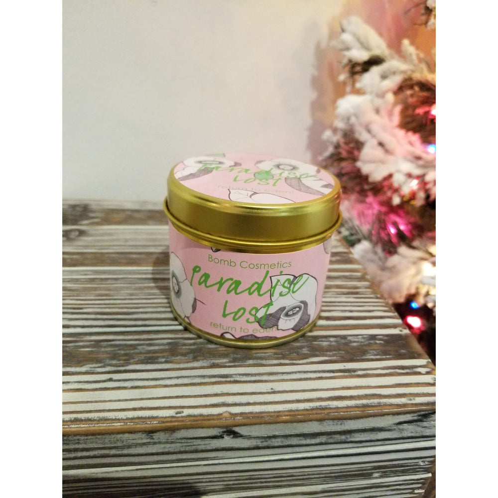 Paradise Lost Tin Candle by Bomb Cosmetics