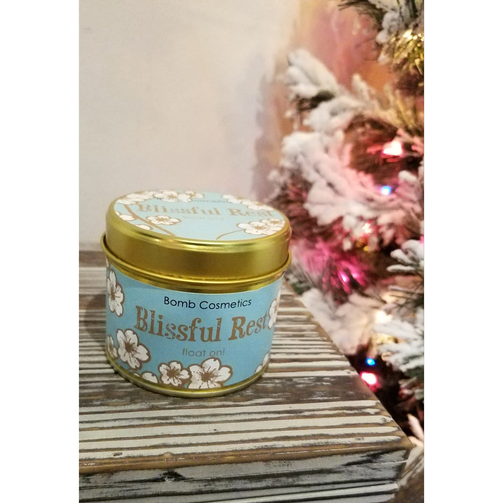 Blissful Rest Tin Candle by Bomb Cosmetics