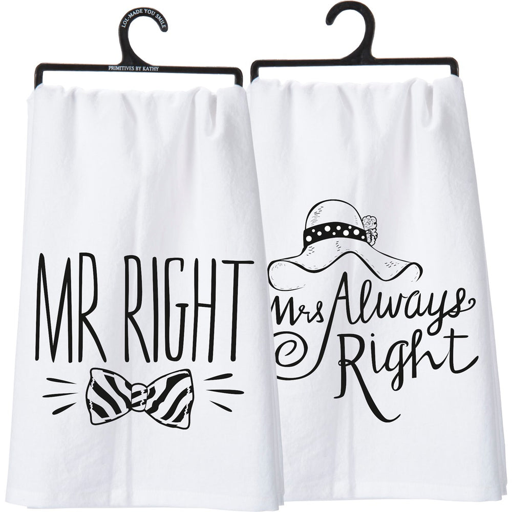 Mr. Mrs. - Kitchen Towel