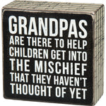 Grandpas Box Sign by PBK