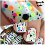 Trouble Maker - Polka Dot Nail Polish