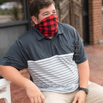 Red Buffalo Check Neck Gaiter