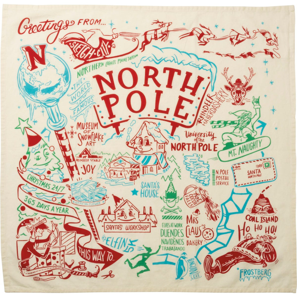 North Pole - Kitchen Towel