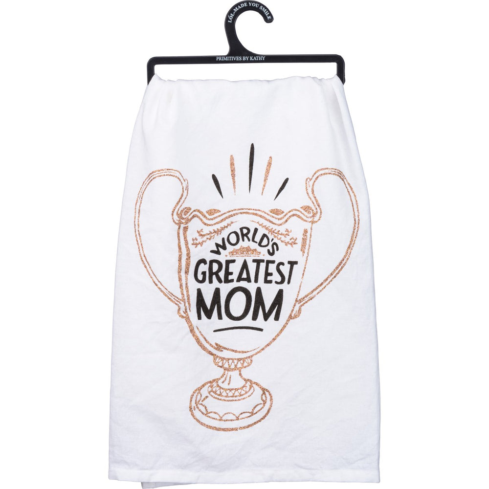 World's Greatest Mom - Kitchen Towel