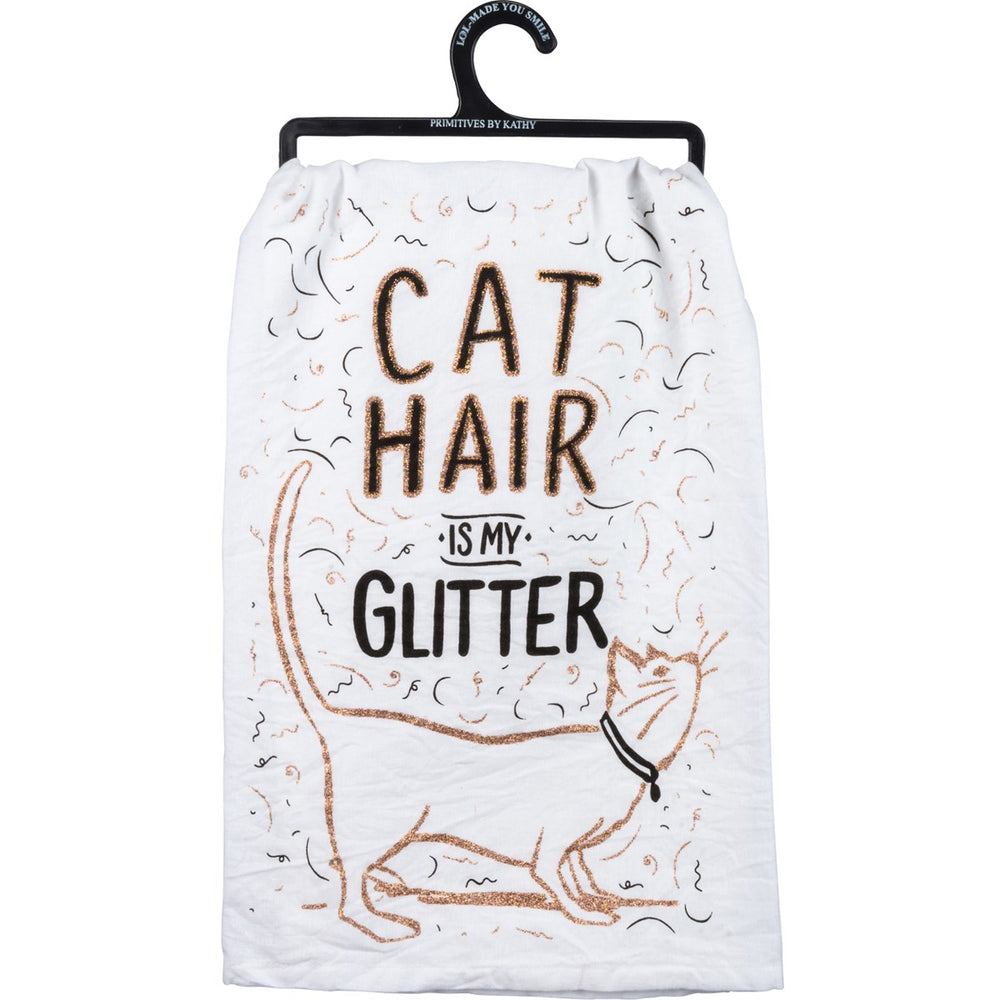 Cat Hair Is My Glitter - Kitchen Towel