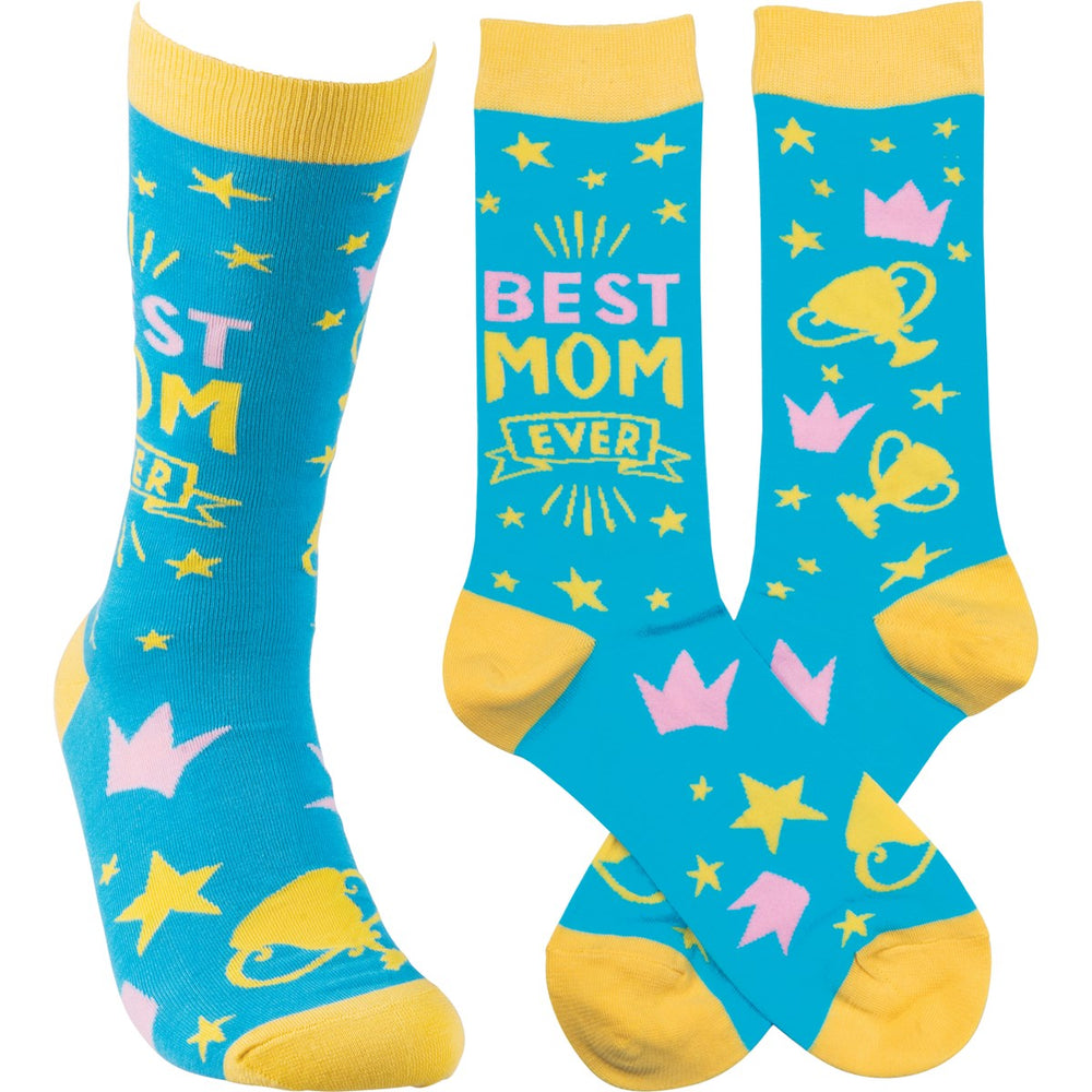 Best Mom Ever - Socks