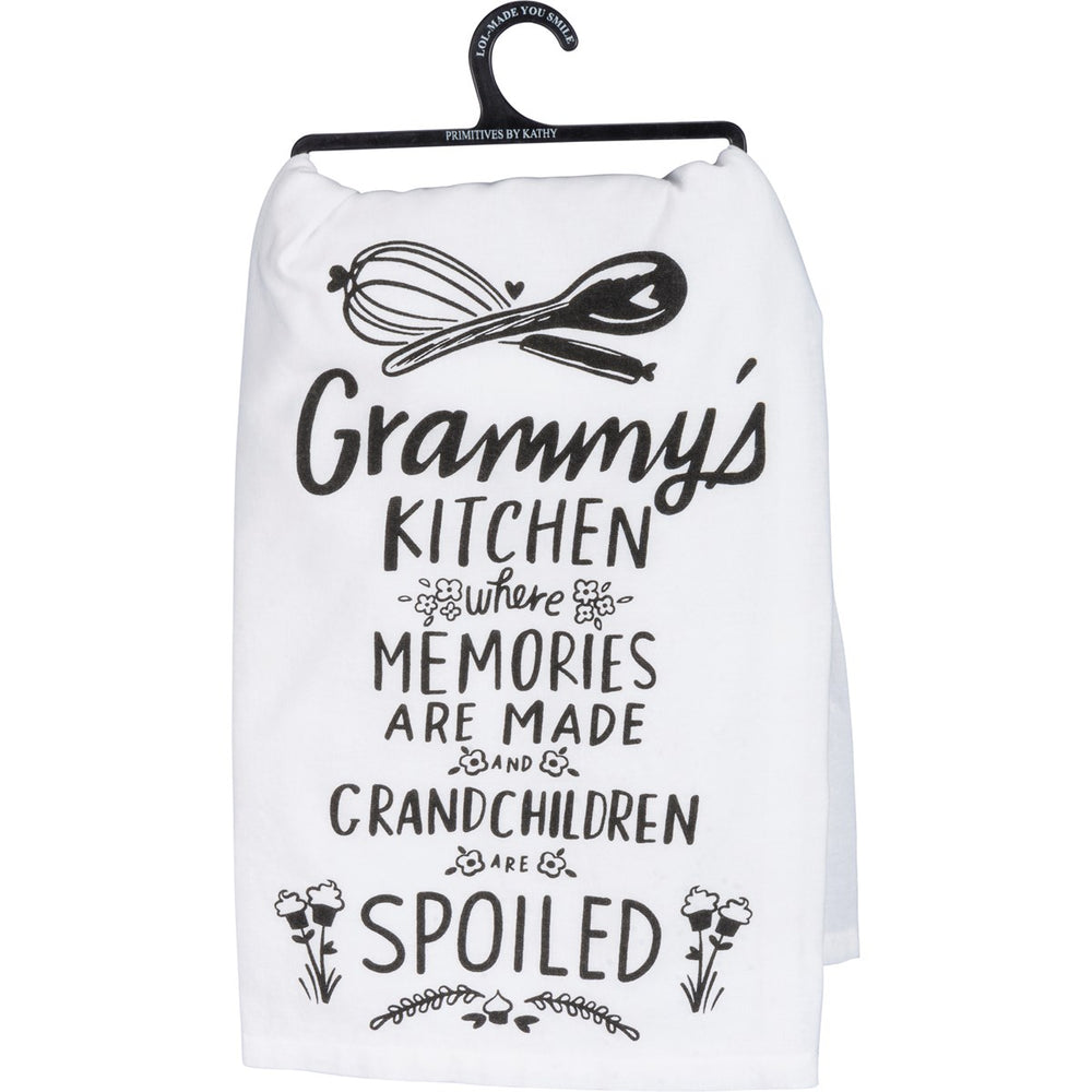 Grammy's Kitchen Where Memories - Kitchen Towel