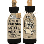 Cheaper Than Therapy -- Bottle Sock By PBK