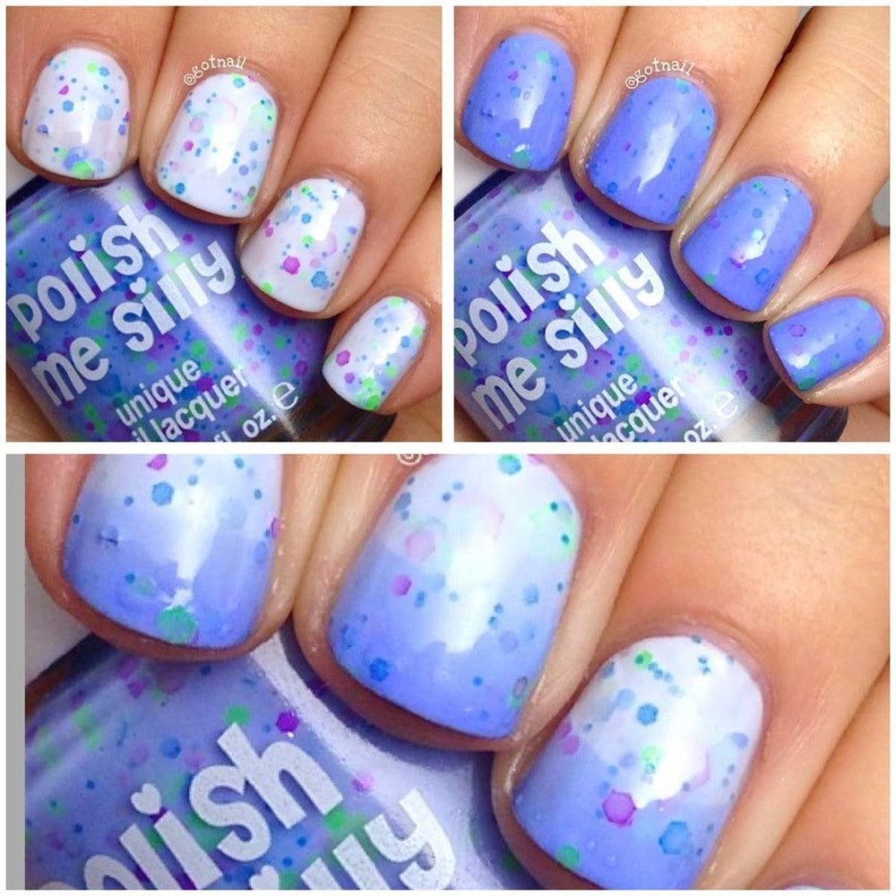Periwinkle Twinkle -- Thermal Color Nail Polish