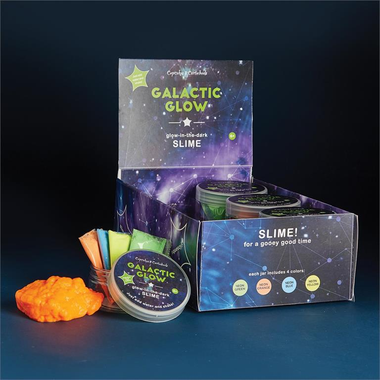 Galactic Glow Make Your Own Glow-in-the-Dark Slime Kit