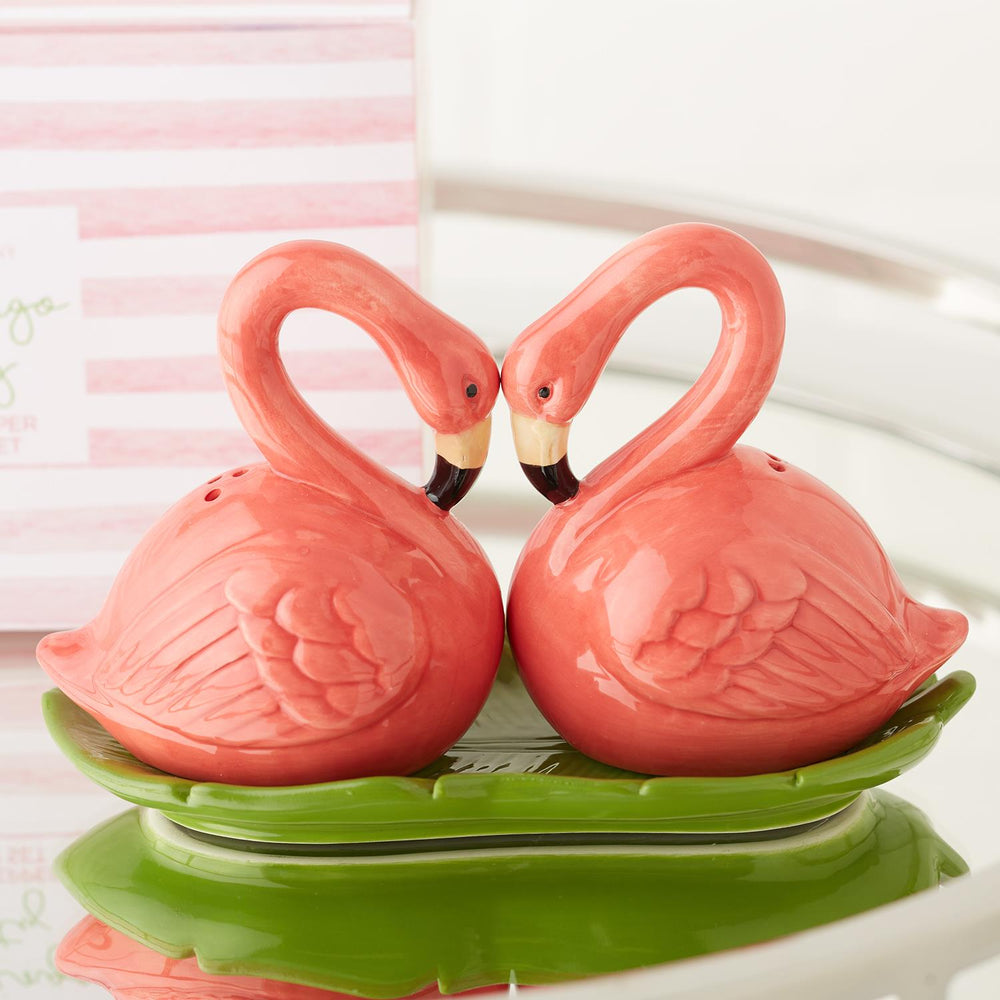 Flamingo Party Salt & Pepper Shaker Set