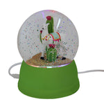 Llama USB Powered Snow Globe