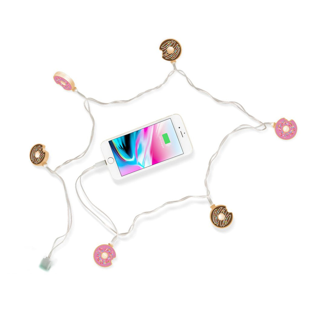 Donuts LED iPhone Charger