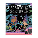 Scratch & Scribble Art Kit -- Mermaid Magic