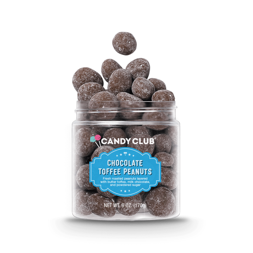 Chocolate Toffee Peanuts by Candy Club