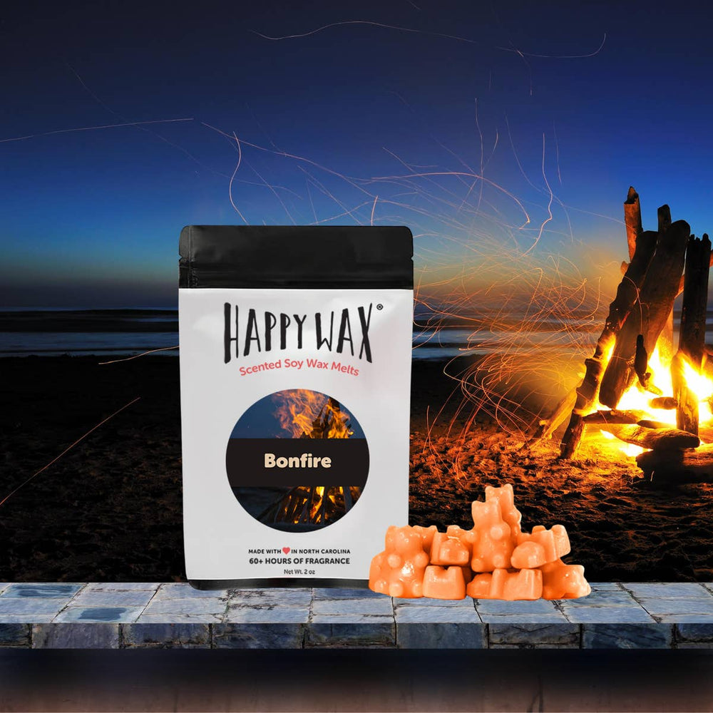 Happy Wax Soy Melts -- Bonfire