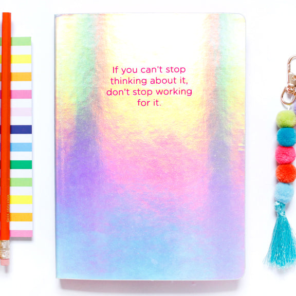Can't Stop...Don't Stop Notebook