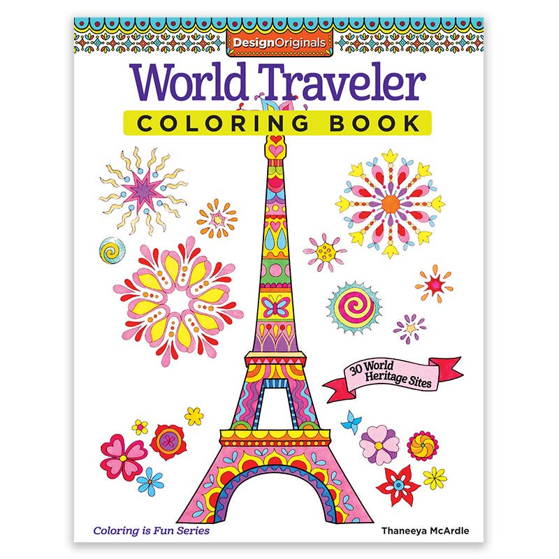 World Traveler Coloring Book