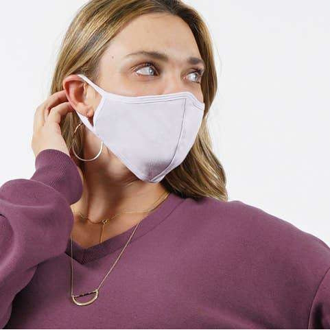 Lilac Face Mask - Adult