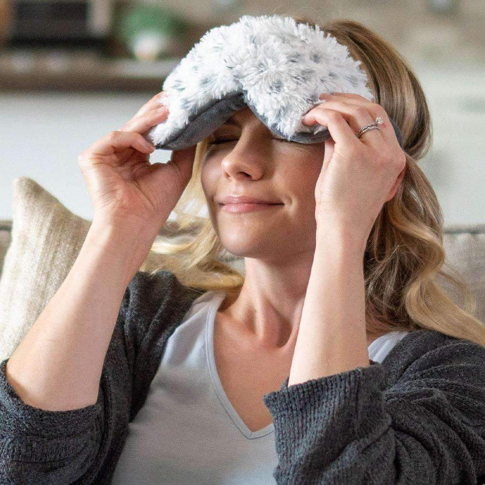 Warmies® Eye Masks -- Snowy