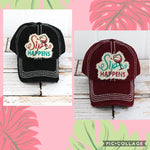 """Sip Happens"" Hat"