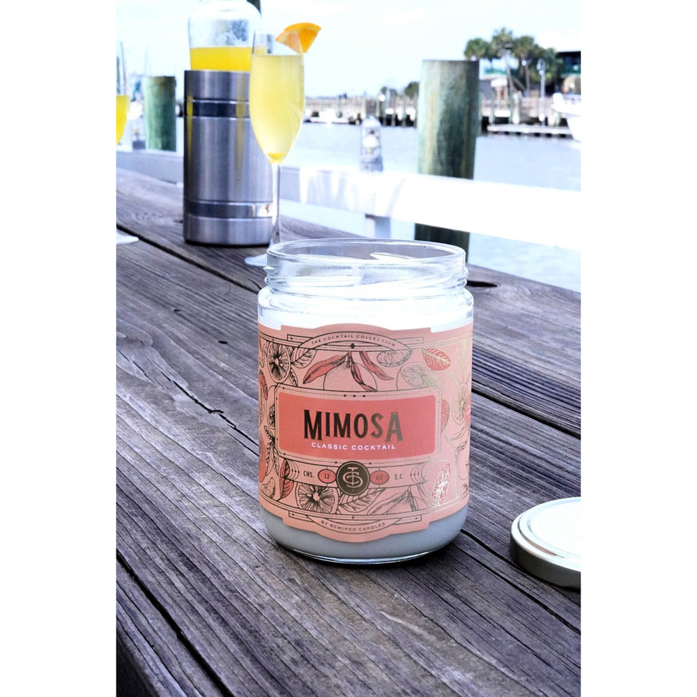 Mimosa Candle by Rewined