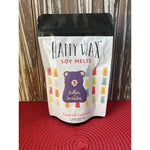 Happy Wax Soy Melts -- Leather & Lavender