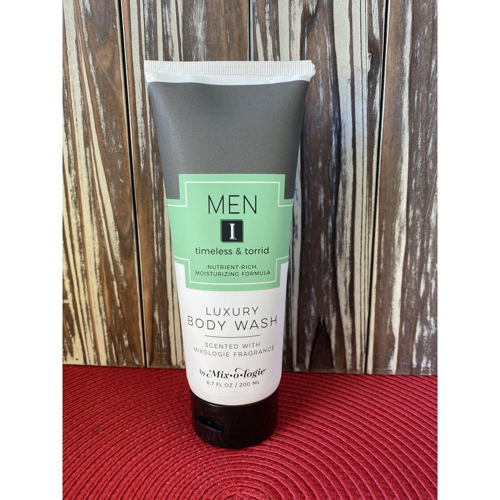 Mixologie's Men I (Timeless and Torrid) Body Wash