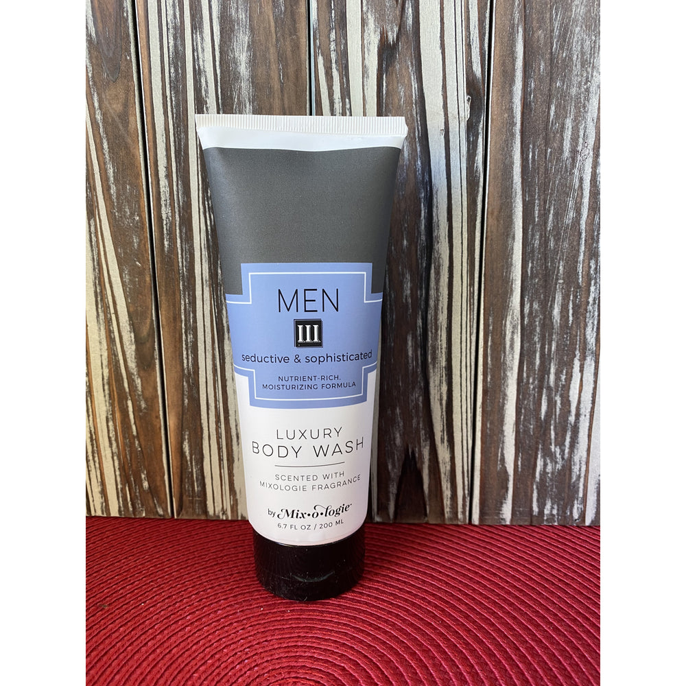 Mixologie's Men III (Seductive and Sophisticated) Body Wash