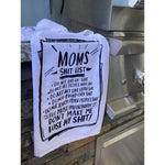 """Mom's List"" Kitchen Towel by PBK"