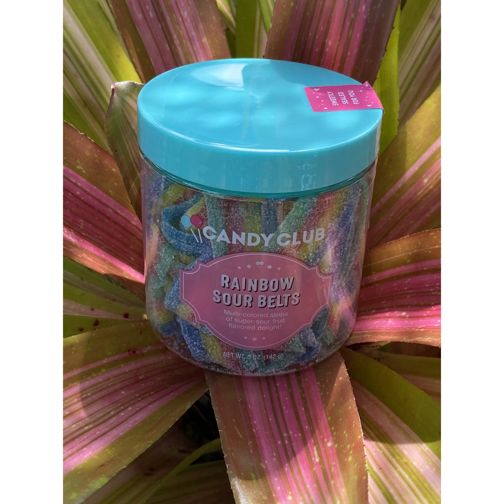 Rainbow Sour Belts by Candy Club