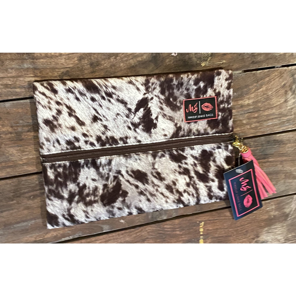 Lola Bag / Chocolate by Makeup Junkie Bags