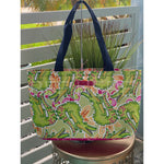 Alligator Beach Tote