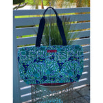 Octopus Cooler Tote