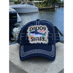 Daddy Shark Vintage Hat -- Choice of Color