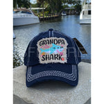 Grandpa Shark Vintage Hat -- Choice of Color