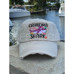 Grandma Shark Vintage Hat -- Choice of Color