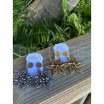 North Star Statement Earrings -- Choice of Color