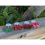 Ugly Christmas Sweater Statement Earrings -- Choice of Color