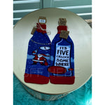 It's Five O'Clock Somewhere-- Bottle Sock By PBK