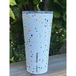 16 oz Tumbler By Corkcicle -- Poketo White Terrazzo