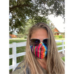 Serape Adult Everyday Filter Fabric Face Mask