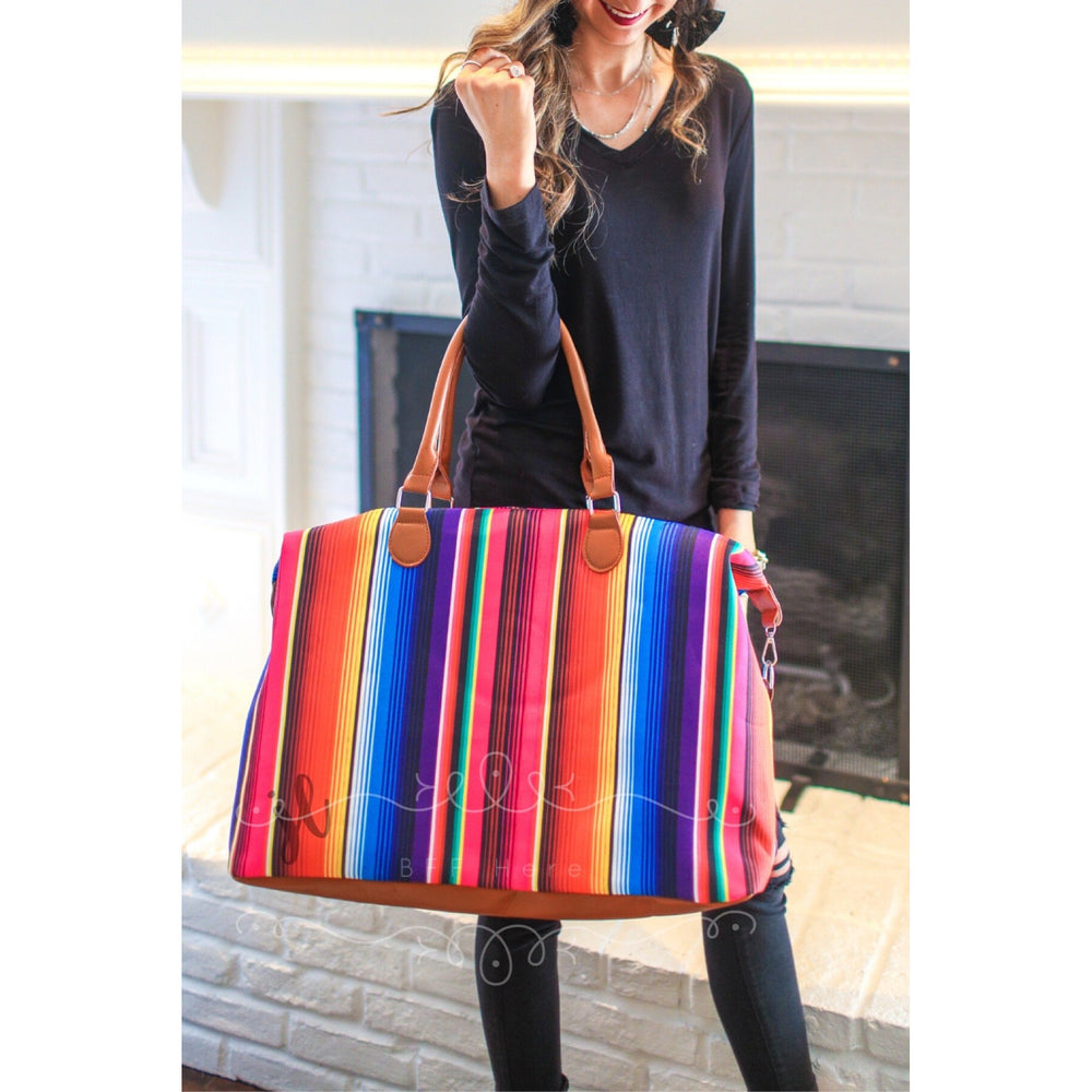 Take Me Away Weekender Bags - Serape