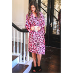 Lucy Leopard Robe -- Choice of Color