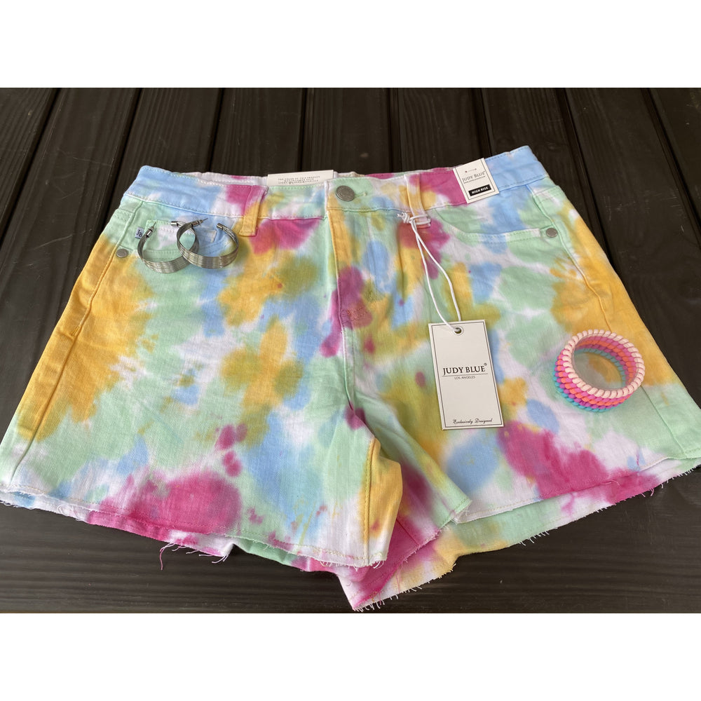 Tie Dye Shorts by Judy Blue
